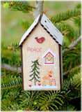 Christmas Birdhouse III - Peace