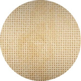 Eggshell Brown Vintage 18 Count Mono Canvas