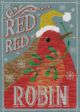 Vintage Christmas - Red Red Robin