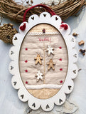 Gingerbread Frame - Patchwork Kit