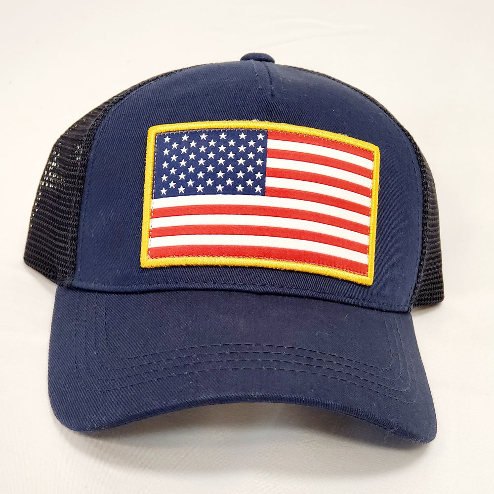 NAVY USA TRUCKER HAT