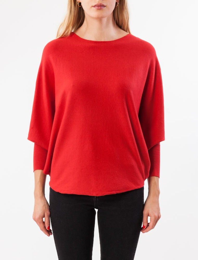 RYU THIN TOP- SCARLET