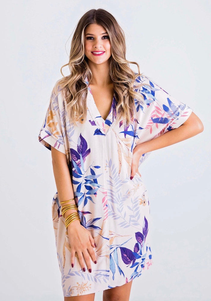 Palm Tropical Everyday Dress