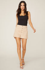 Short Fuse Cotton Khaki Shorts