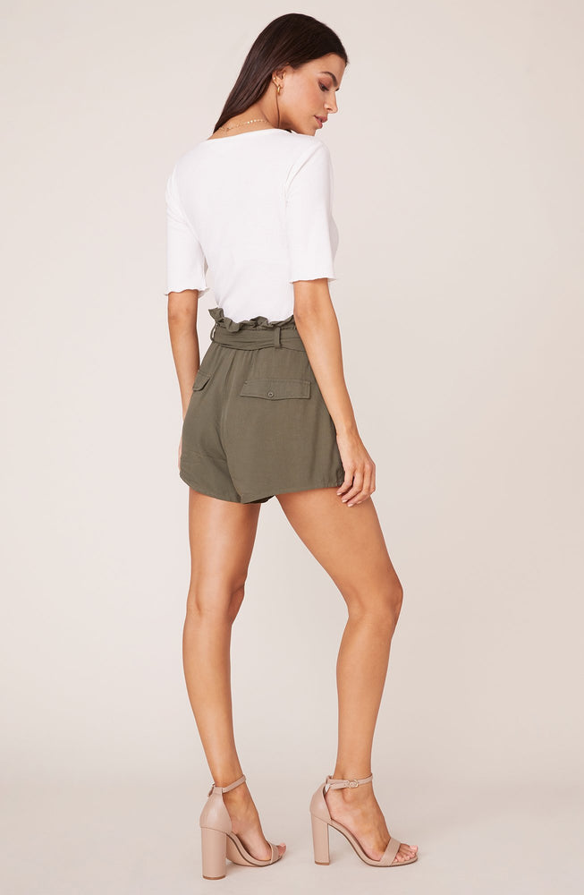 Secure the Bag Shorts- Olive