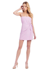 Lizzo Dress Electric Lilac