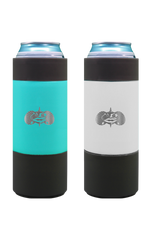 Non-Tipping Slim Can Cooler by Toadfish- White