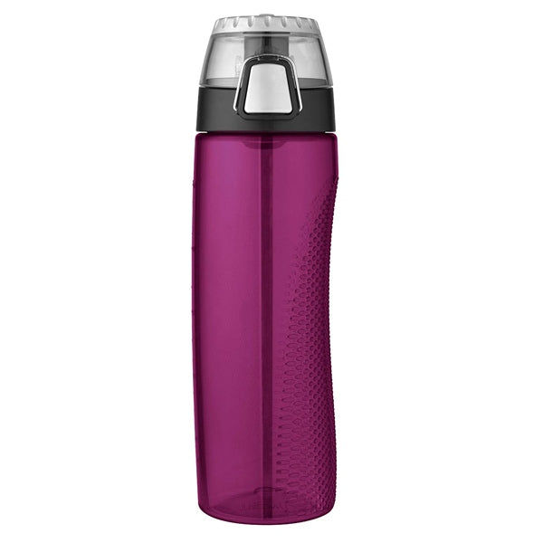 THERMOS  710ml Single Wall BPA Free Eastman Tritan? Copolyester Hydration Bottle ? Magenta