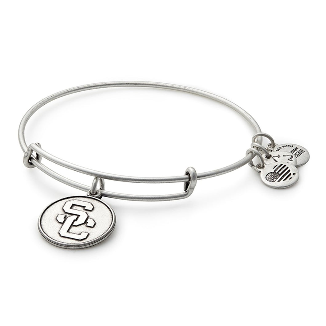 Alex and Ani | University of Southern California Adjustable Bangle Bracelet Silver