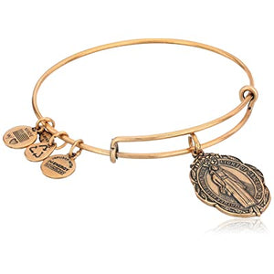 Alex and Ani | GP Mother Mary Adjustable Bangle Bracelet Gold