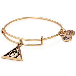 Alex and Ani | Harry Potter Deathly Hollows Adjustable Bangle Bracelet Gold