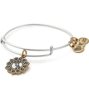 Alex and Ani | Two Toned Scorpio Charm Bracelet