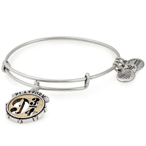Alex and Ani | Harry Potter Platform 9 3/4 Adjustable Bangle Bracelet Silver