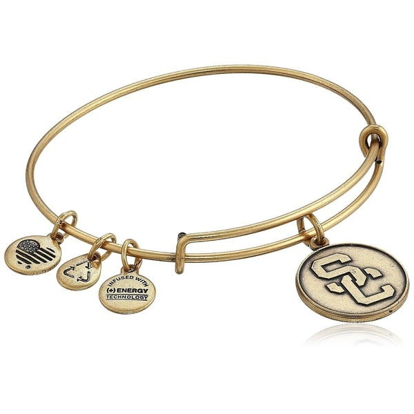 Alex and Ani | University of Southern California Adjustable Bangle Bracelet Gold