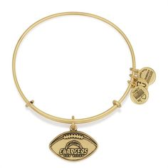 Alex and Ani | San Diego Chargers Adjustable Bangle Bracelet Gold
