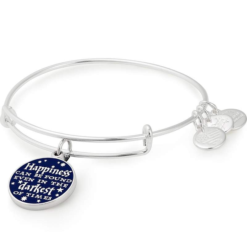 Alex and Ani | Harry Potter Happiness Can Happen Adjustable Bangle Bracelet Silver