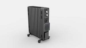 2.4kW Oil Free Column Heater with Timer & Turbo Fan