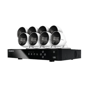 UNIDEN GXVR55880 Guardian 8 PACK WEATHER PROOF OUTDOOR SECURITY CAMERAS