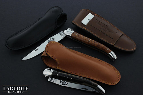 MAX CAPDEBARTHES Leather Knife Sheaths