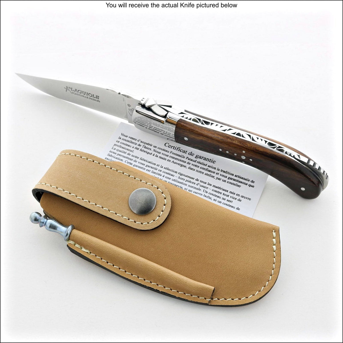 Laguiole Sport Classic Knife Ironwood