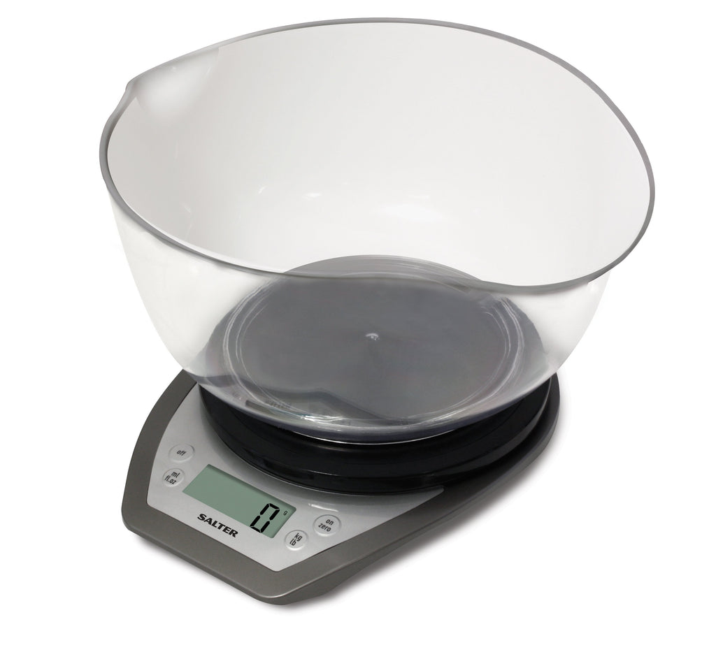 Salter Salter Dual Pour Kitchen Scale with Bowl