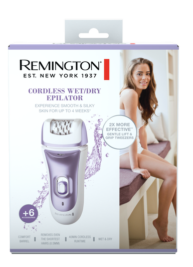 Remington Smooth & Silky® Cordless Wet/Dry Epilator