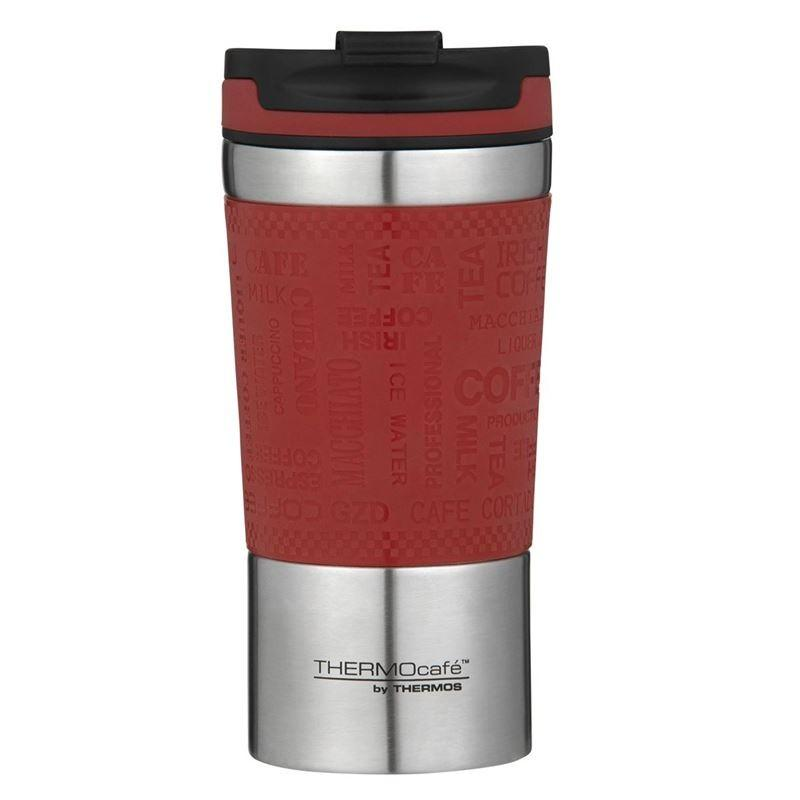 THERMOcafé™ 350ml THERMOcafé™ Vacuum Insulated Travel Cup - Dark Red