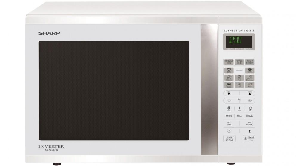SHARP 1000W Convection Microwave - White