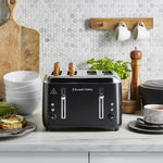 Russell Hobbs Addison 4 Slice Toaster Matt Black