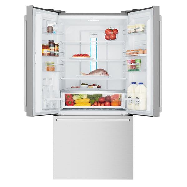 Westinghouse WHE5204SB 524L Stainless Steel French door fridge