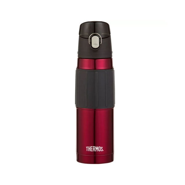 Thermos 2465SKRAUS 530ml Stainless Steel Vacuum Insulated Hydration Bottle with Hygienic Flip Lid - Red