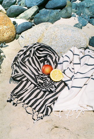 CLASSIC STRIPES - Handwoven Linen Towels, Limited Edition