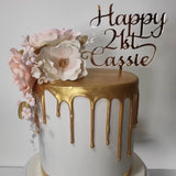 Sammy Word Font Cake Topper
