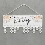 Beige Birthday Board - Personalised