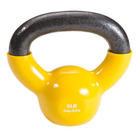 Cast Iron Vinyl Coated Kettlebells