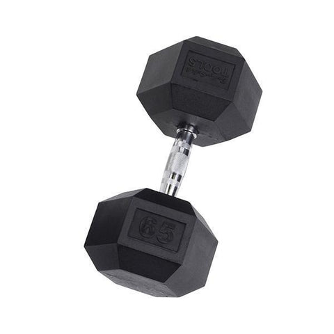 Advanced Rubber Hex Dumbbell