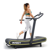 Health Runner Curved Manual Treadmill