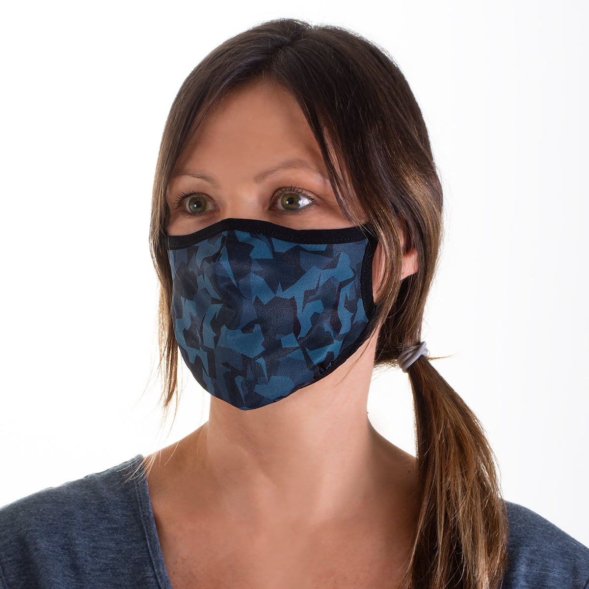 Camo Adjustable Mask with Disposable Filter