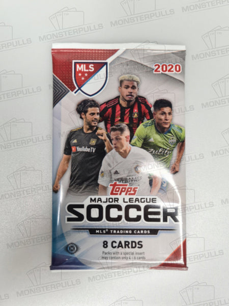 2020 Topps Chrome Major League Soccer (MLS) Hobby Pack