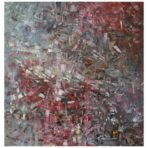 "Abstract Painting ""ablusion"" by Russian Painter Yuri Tsvetaev"