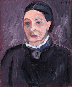 "Painting ""Ma Mere"" by Catherine Zoubtchenko"