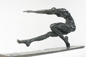 "Bronze Sculpture ""Voltige"" by Nancy Vuylsteke de Laps"