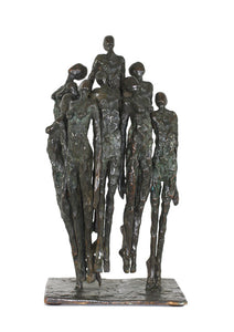 "Bronze sculpture ""Elevation"" by Nancy Vuylsteke de Laps"