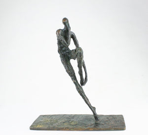 "Bronze sculpture ""La baigneuse"" by Nancy Vuylsteke de Laps"