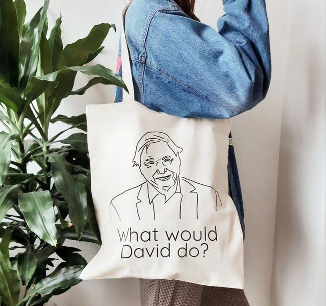 What would David do organic Tote bag