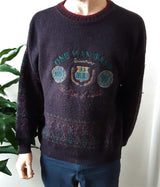 Vintage 90s jumper 'One Man Band' - size M