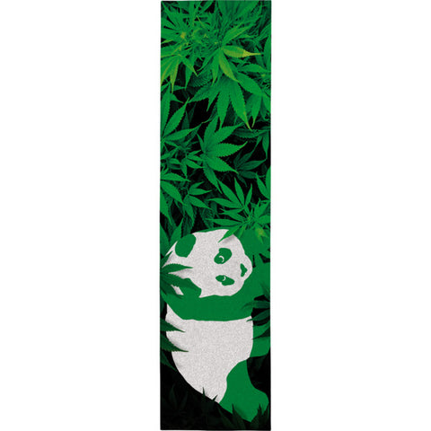 "Enjoi Skateboards 420 Panda Green Griptape - 9"" x 33"""