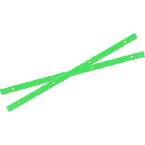 Yocaher Skateboards Neon Green Skateboard Board Rails