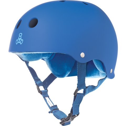 Triple Eight Sweatsaver Skateboard Helmet Blue