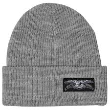 ANTI HERO STOCK EAGLE BEANIE DARK GREY